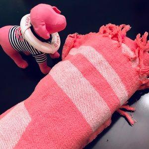 Victoria's Secret Pink bundle - blanket and dog!